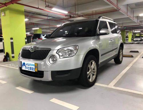 2011年 Skoda Yeti .里程4.5萬公里.低里程、一手車、保母車、買菜車、女性車主.(車牌為Demo用)