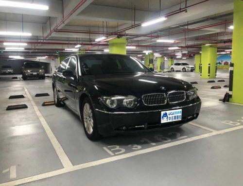 BMW 735 Li (黑色) -已售出