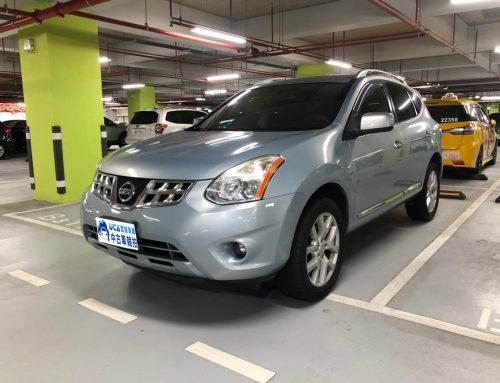 Rogue 2011年、廠牌Nissan ,五門休旅車里程14.2萬公里、2488cc、淺藍色、原車原版件、無待修、車況良好!