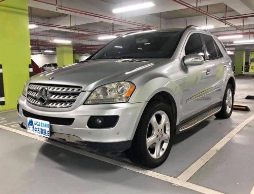 2007年 ML350 休旅車,Benz 型號w164,4WD,里程11.2萬英里(車牌為Demo)